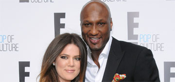 Khloe Kardashian took Lamar Odom back: sad, self-sacrificing, naive?