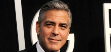 George Clooney slams reports he's banging 3 different women, claims he's single