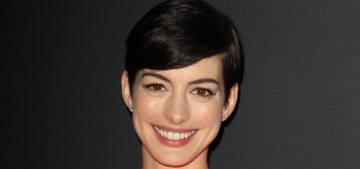 Anne Hathaway 'acted rude, bitchy, rolled her eyes all night' during a charity event?
