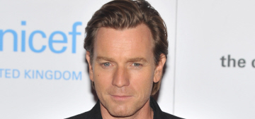Ewan McGregor hosts the UNICEF Halloween ball in London: would you hit it?