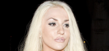 Has Courtney Stodden already kicked Doug out and moved another dude in?