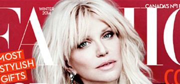 Courtney Love refuses to age gracefully, admits to a facelift at age 35
