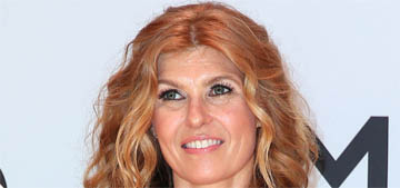Connie Britton in sparkly Georges Hobeika at the CMAs: pretty or prom?