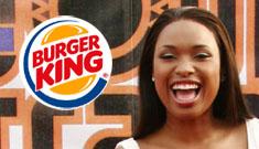 Burger King tells Jennifer Hudson that it's on them