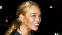 Lindsay Lohan hit a photographer with her car while probably drunk