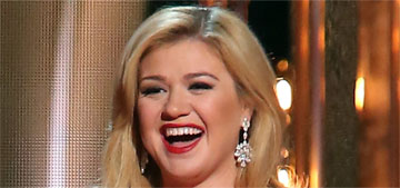 Kelly Clarkson on if she's pregnant: 'we're trying like rabbits… we have two kids'