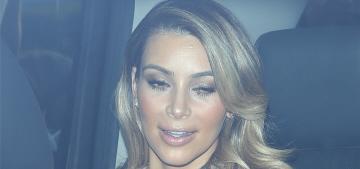 Kim Kardashian posts new photos of North West, gets a speeding ticket in LA