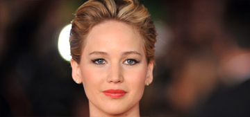Jennifer Lawrence wears Dior in Rome, flashes a little sideboob: no biggie?