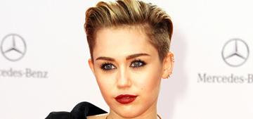 Miley Cyrus wins Bambi award, wears Jean Paul Gaultier: lame or lovely?