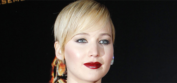 Jennifer Lawrence doubles down on sideboob in Paris: goth cool or poseur?