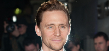 Tom Hiddleston goes 'scruffy' for the Evening Standard Awards: would you hit it?