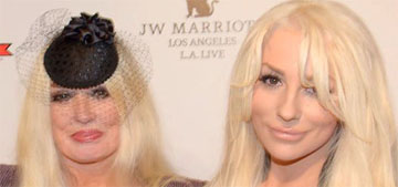 Courtney Stodden, 19, vs. Mamie Van Doren, 82: whose giant rack looks better?
