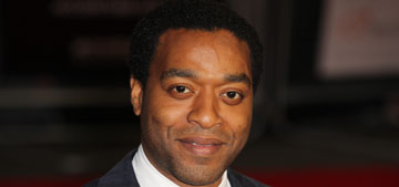 Chiwetel Ejiofor keeps getting serious, when will the press focus on how hot he is?