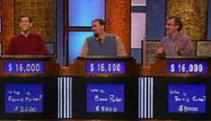Three way tie on Jeopardy beats odds, renews interest briefly post-Jennings