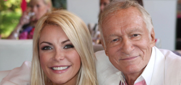 Hugh Hefner & Crystal Harris's marriage is troubled because he's old, boring