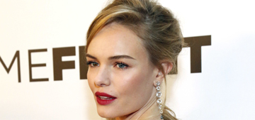 Kate Bosworth in Fendi at the 'Homefront' premiere: lovely or too bedazzled?