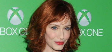 Christina Hendricks & the hot nerds at Xbox One launch: who would you rather?