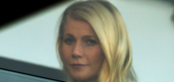 Gwyneth Paltrow shows off some 1940s period style in London: stunning?