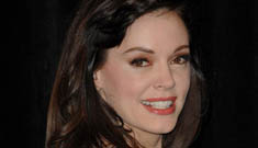 The story behind Rose McGowan's droopy eye(s)