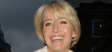 Emma Thompson was 'fierce' in her 20s: 'I've always been a card-carrying feminist'