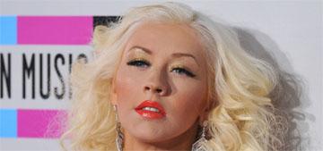 Christina Aguilera in Maria Lucia Hohan at the AMAs: glamorous or predictable?
