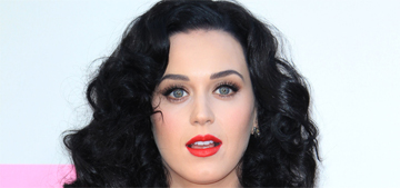 Katy Perry in Oscar de la Renta at the AMAs: the best she's ever looked?