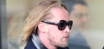 Macaulay Culkin looks healthy & loved up in Paris with new girlfriend: adorable?
