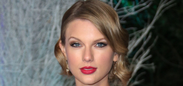 Taylor Swift in white & silver Reem Acra at Kensington Palace: pretty & princessy?