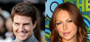 Is Tom Cruise 'smitten' & 'on cloud nine' after a hot date with Laura Prepon?