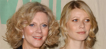 Blythe Danner on hate for Goop: 'people who sit on their asses all day' are jealous