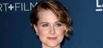 Evan Rachel Wood rants against the MPAA for 'shaming women for enjoying sex'