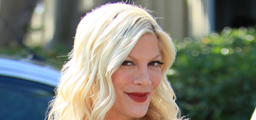 Tori Spelling is so broke she blew $10,000 on a Thanksgiving family getaway