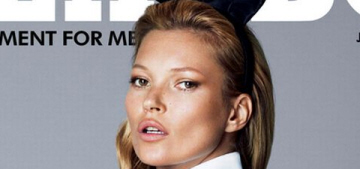 Kate Moss's 40th birthday Playboy cover revealed: iconic, dated or cheesy?