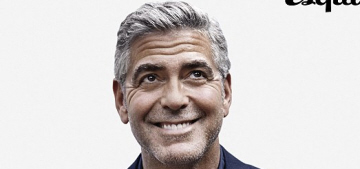 George Clooney: 'I think anyone who is famous is a moron if they're on Twitter'