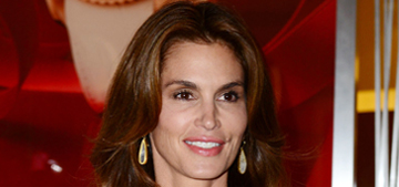 Cindy Crawford won't do Playboy again: 'I wouldn't want my son to be uncomfortable'