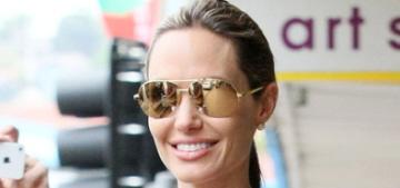 Angelina Jolie takes Zahara, Shiloh, Vivienne & Knox shopping in Sydney: so cute?