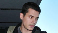 John Mayer spotted kissing another woman after a date
