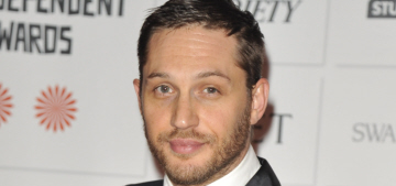Tom Hardy vs. James McAvoy at the Moet Awards: who would you rather?