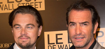 Leo DiCaprio vs Jean Dujardin at 'Wolf of Wall St' premiere: who would you rather?