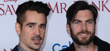 Colin Farrell vs Wes Bentley at the 'Mr. Banks' premiere: who would you rather?