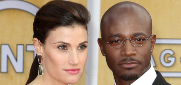 Taye Diggs & Idina Menzel announce their separation following months of rumors