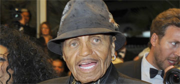 Joe Jackson is trying to push Blanket, 11, as the next Jackson star: keep him away?