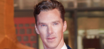 Is Benedict Cumberbatch conspiring with Marvel to win 'Dr. Strange'?