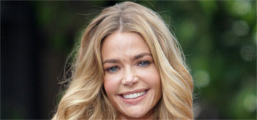 Denise Richards will take Charlie Sheen's twins again if they're headed for foster care