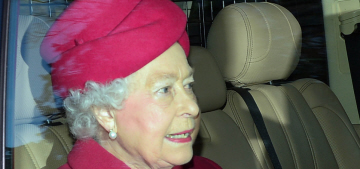 Queen Elizabeth had to put some royal relatives in (gasp) the servants' quarters