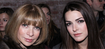 Anna Wintour's daughter: My mom threw out the tree before Christmas