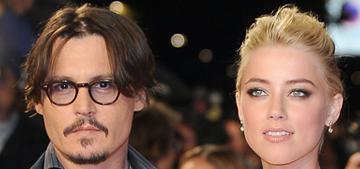 Johnny Depp gave Amber Heard $50,000 of jewelry on xmas: c'mere, Johnny?