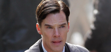 """""""The first official photo of Benedict Cumberbatch as Alan Turing"""" links"""