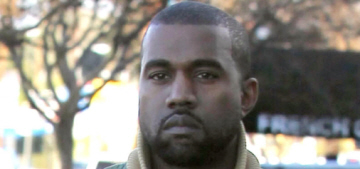 Kanye West's New Year's resolution: he won't 'talk s–t' for 'like, six months'
