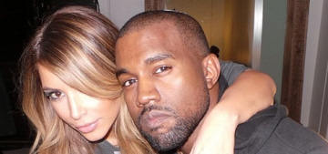 Kim Kardashian posts photo of her diamond ring & the best Kimye video ever